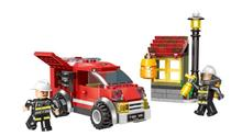 XINGBAO 14001 218PCS City Fire Series Eliminate the Honeycomb Set Model Building Blocks Kids Educational Bricks Toys Funny Gifts lepin 02102 city series the mining experts site set with dump truck 60188 building blocks bricks funny toys model kids gifts