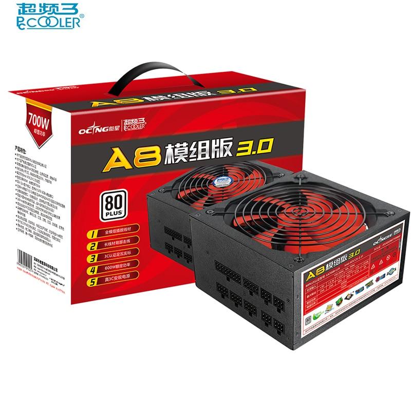 PcCooler 150-264V 600W computer Power s