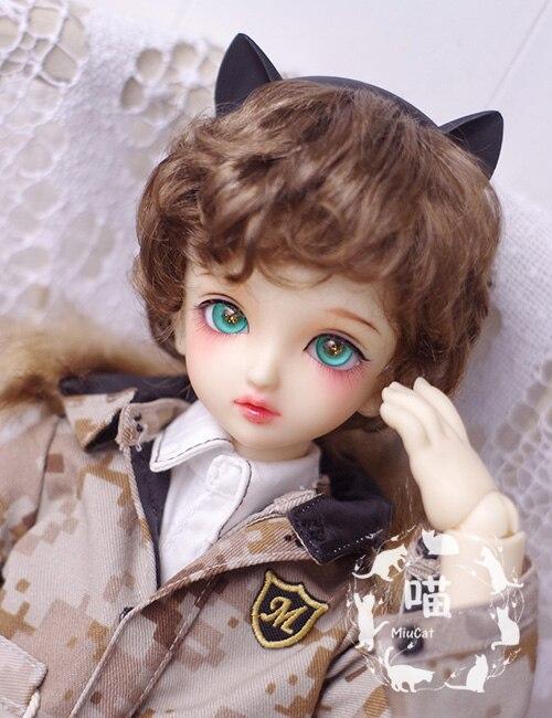 New Bjd Doll Wig 1/3 1/4 1/6 8-9