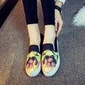 Обувь Женщина Женщины Беременные Обувь ткани обувь Квартиры Мокасины Поскользнуться На женщин Плоские Туфли Sapato женщина для 161