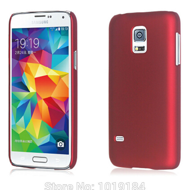 Matte Plastic Rubber Case Back Cover For <font><b>Samsung</b></font> Galaxy S5 mini <font><b>G800F</b></font> G800A G800H G800Y image