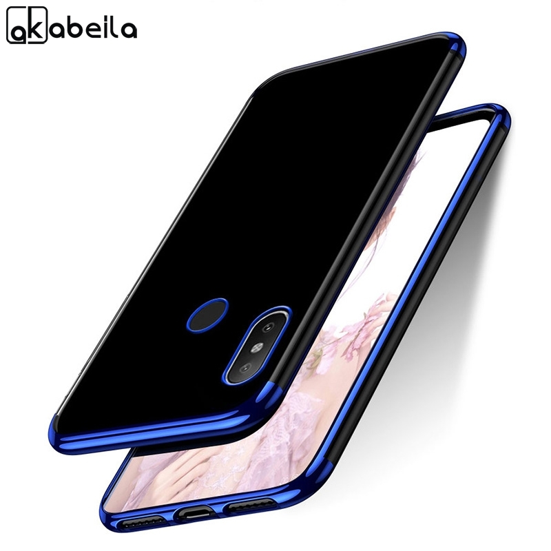 Phone Case For Xiaomi Redmi Note 7 Cases Silicone Plated Fundas For Xiaomi Redmi Note 6 Pro 5 Plus 5A Prime 4 4X 6A 5A S2 Covers in Fitted Cases from Cellphones Telecommunications