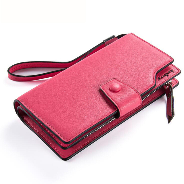 Luxury Large-Capacity Long Leather Women's Wallet