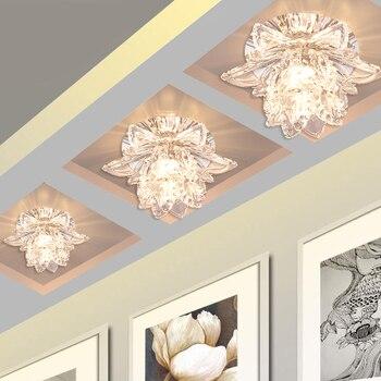 Ɩ�しい現代5ワットledシーリングランプ廊下フラッシュマウントダウンライトホーム装飾照明管ミニ天井ライトCL376