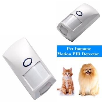 Mini Portable Wired 25KG Pet Immune Dual Infrared PIR Motion Detector Sensor Low Consumption for Home GSM Security Alarm System Sensor & Detector