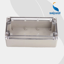 Saipwell 2014 New Waterproof box IP66 Waterproof Electrical Box Waterproof Junction Box with Clear Cover High Quality