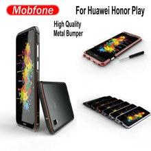 Модные Роскошные ультратонкие тонкий алюминий металла рамки для huawei Honor Play COR-L29 6,3 дюймов телефон принципиально бампер
