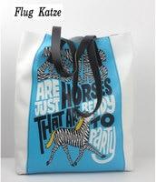 Flug Katze Real Genuine Leather Shopping Bag Bolsas Femininas Women Handbags dollar price Fashion Designer Brand Ladies Tote