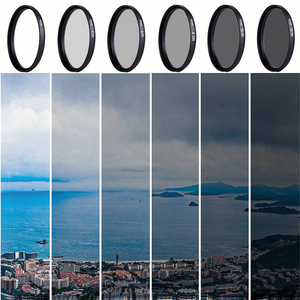 Image 5 - CAENBOO 37mm Lens ND Filter ND2 4 8 16 32 Lens Protector neutrale Dichtheid 40.5mm ND16 ND32 Lens Filter Bag Voor Canon Nikon Camera