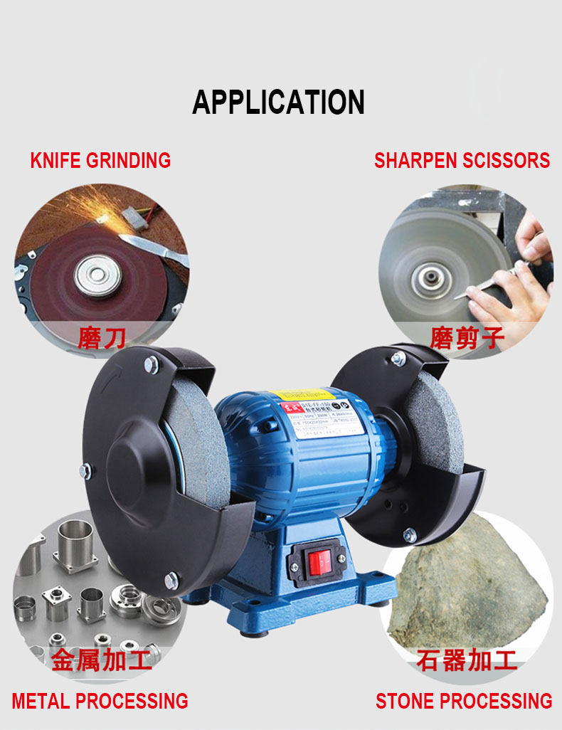 Stupendous Us 98 88 Bench Grinder Industrial Electric Grinding Machine Small Table Knife Sharpener 3 Phase Vertical Stone Milling Machine In Grinders From Creativecarmelina Interior Chair Design Creativecarmelinacom