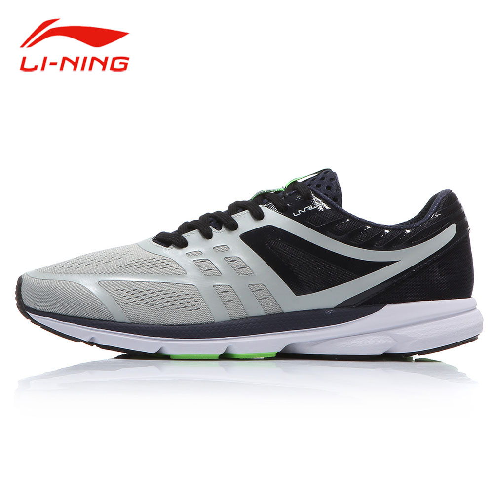 Li-Ning Men ROUGE RABBIT Smart Chip Running Shoes Stable Light Cushion Running Sneakers LiNing Breathable Sports Shoes ARBM127 li ning men s smart running shoes furious rider tuff os stability sneakers probarloc lining sports shoes arhl043 xyp424