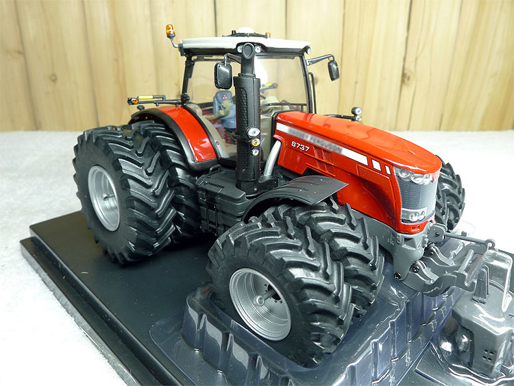 1:32 4284 MF 8737 8WD tractor model alloy farm vehicle model Collection model rep 1 32 fiat 110 90 tractor alloy model agricultural vehicles favorites model