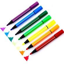 5 шт./лот мультфильм моющиеся маркеры Акварельная ручка для детей живопись Kawaii Канцелярские товары для рукоделия Рисование маркером