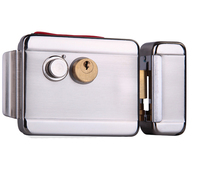 Free Shipping Brand New 12V Double Head Door Electric Control Door Lock For Access Control And