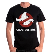 T Shirt Fashion Tops  Short Men Graphic Crew Neck Ghostbusters Classic Logo T Shirts