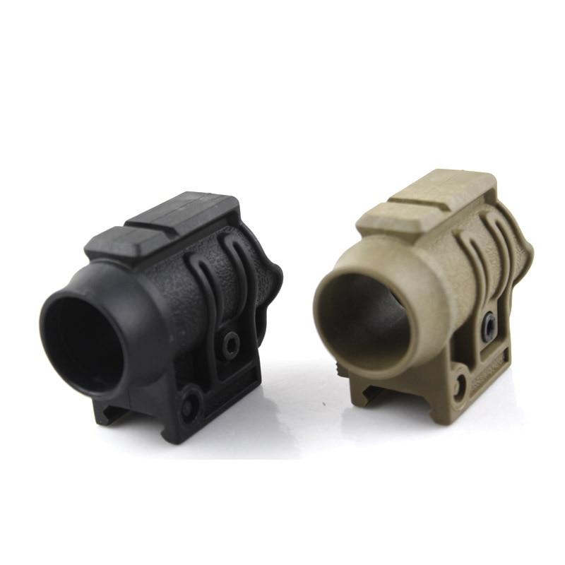 Tactical Gun Flashlight Laser Scope Ring Mount For 20mm Picatinny Rail