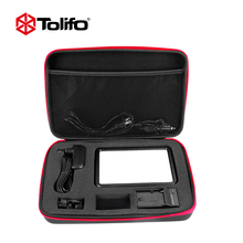 Tolifo PT-12b Dimmable Photo Video LED Light Panel Kit with Battery Charge and Other Accessories for Photography and DSLR Camera
