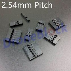 20 stücke/viel 2,54mm Pitch Dupont Stecker stecker Gehäuse Pixhawk/PX4/apm2.x/CC3D/ miniapm GPS Bluetooth Telemetrie OSD empfänger