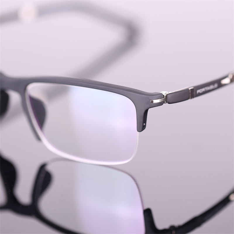 c488a8f293b Designer glasses Fashion TR90 Half glasses frame ultralight myopia men and women  retro eye box frames prescription glasses 916-in Eyewear Frames from ...