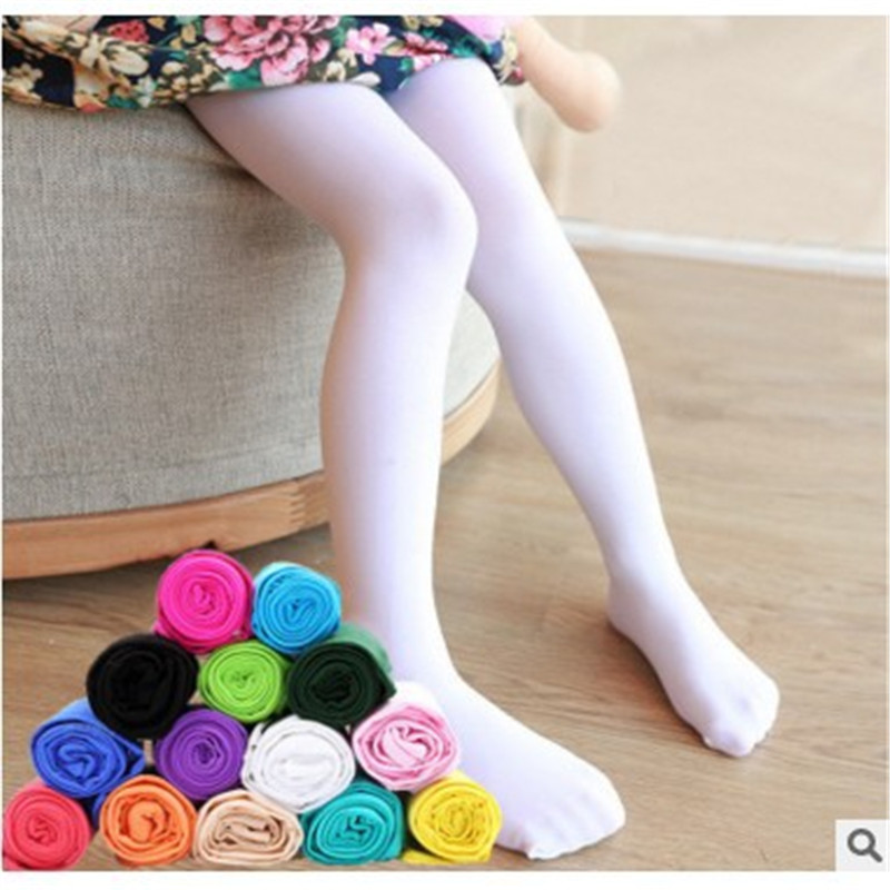 2017 new Spring autumn 9 Colors Pure Color Children Tights for Baby Girls Cute Velvet Pantyhose Tight for Girls Dance Tights spring autumn candy color children tights for baby girls kids cute velvet pantyhose tights stockings for girls dance tights