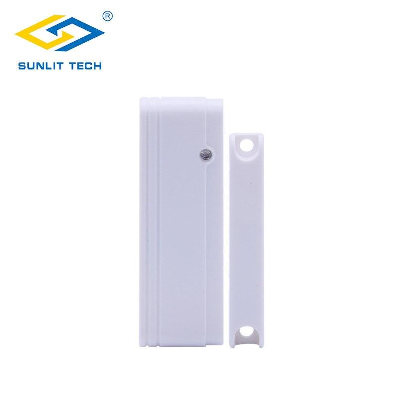 Wireless Door Opening Sensor Alarm System for Home Security 433mhz wifi Window Door Magentic Switch Door Contact Alarm Detector недорого