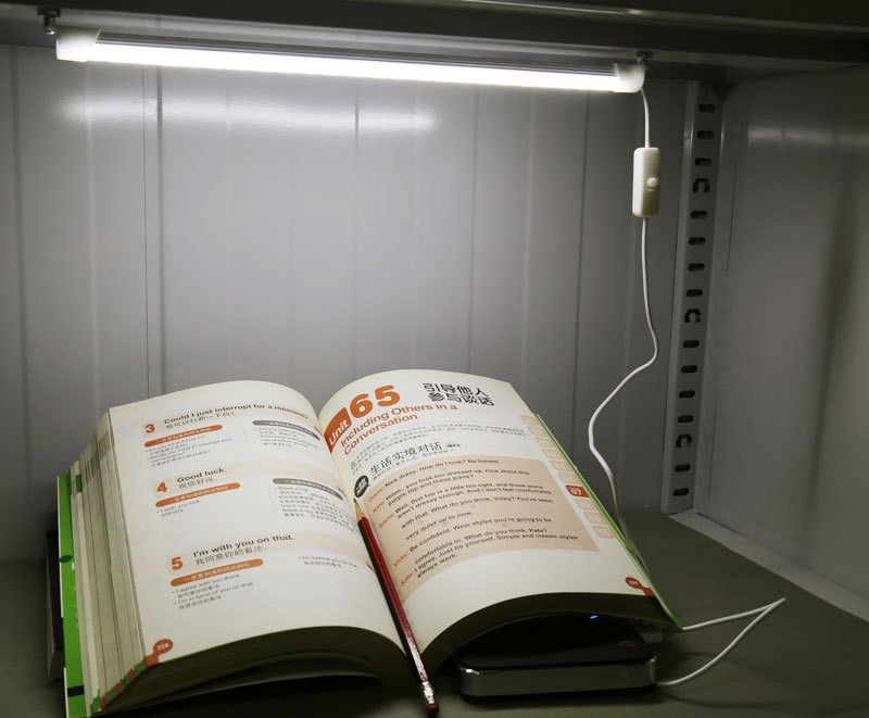 USB Light 24 LED 5630 Hard Strip Light Tube Cool W..