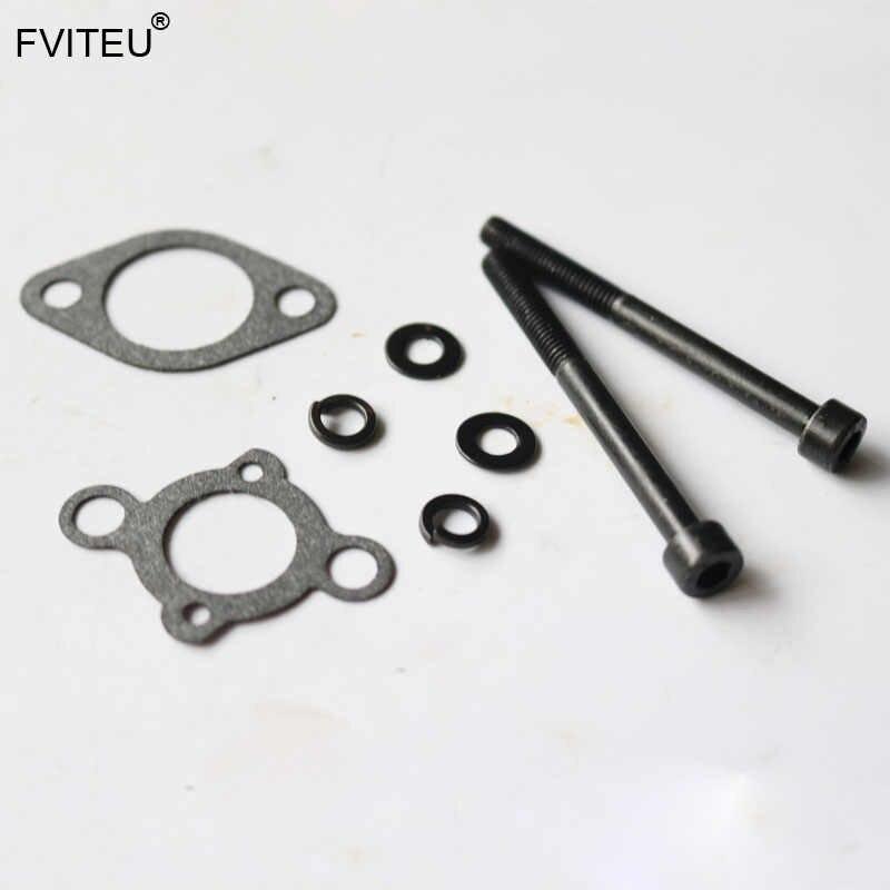 FVITEU Schroef Pakking Kit voor Carburateur voor 23CC-32cc Zenoah MOTOR CY Voor 1/5 HPI Baja 5b 5 t 5sc Rovan KM Losi 5ive T