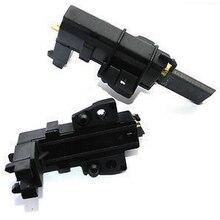 2 шт./партия мотор для стиральной машины, угольные щетки для водоворота Hover Candy Indesit,, черный цвет