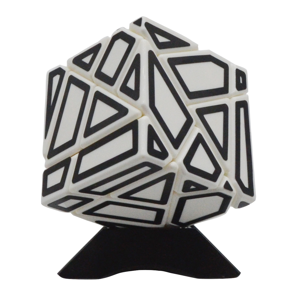 FANGCUN 3x3x3 Ghost Magic Cubes Puzzle Cube Puzzle Cube Toys With Base Holder