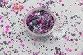RFI321-193 Mezclar Colores formas de Punto redondo Del Brillo para el arte del clavo, gel de uñas, maquillaje y la decoración de DIY