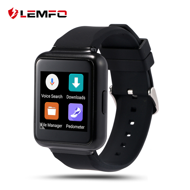 Lemfo Q1 Smart watch phone MTK6580 512 МБ + 4 ГБ Android 5.1 OS поддержка Mp3 wi-fi Nano СИМ-Карты WIFI 3 Г Google карте ПРИЛОЖЕНИЕ Smartwatch