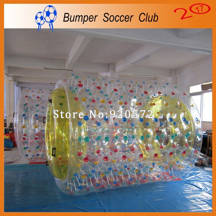 Free shipping ! 1.0mm TPU Inflatable Water Roller Ball Walk On Water ,Roller Wheel For Adults Or Kids,Inflatable Rolling Ball free shipping inflatable water wheel pool inflatable water roller water roller ball inflatable water balls