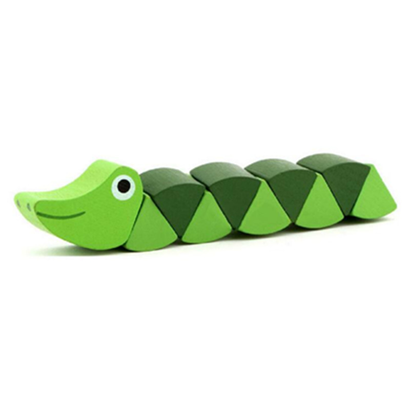Wooden Insect Toy for Children 17