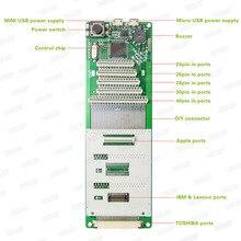 QK AK5 Tastiera Del Computer Portatile di Test Tester Macchina Dispositivo Strumento di Interfaccia USB Perfetto di Prova di Lavoro di Buona con trasporto libero + inseguimento