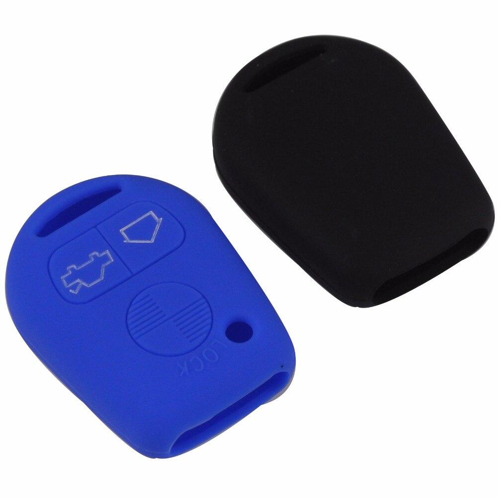 Remote 3 Buttons Car Key Silicone Cover Skin Case For BMW E31 E32 E34 E36 E38