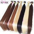 I Tip Hair Extensions Keratin Hair Extensions Capsules Human Hair extension keratine 100s/Bundle Italian Pre Bonded 7A Cheap