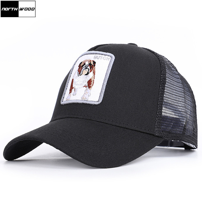 Summer Cap Trucker-Cap Snapback Mesh Men baseball-Cap Animales Women's NORTHWOOD