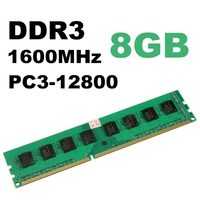 Brand New 8GB DDR3 Memory RAM PC3 12800 1600MHz Desktop PC DIMM 240 Pins Non EC