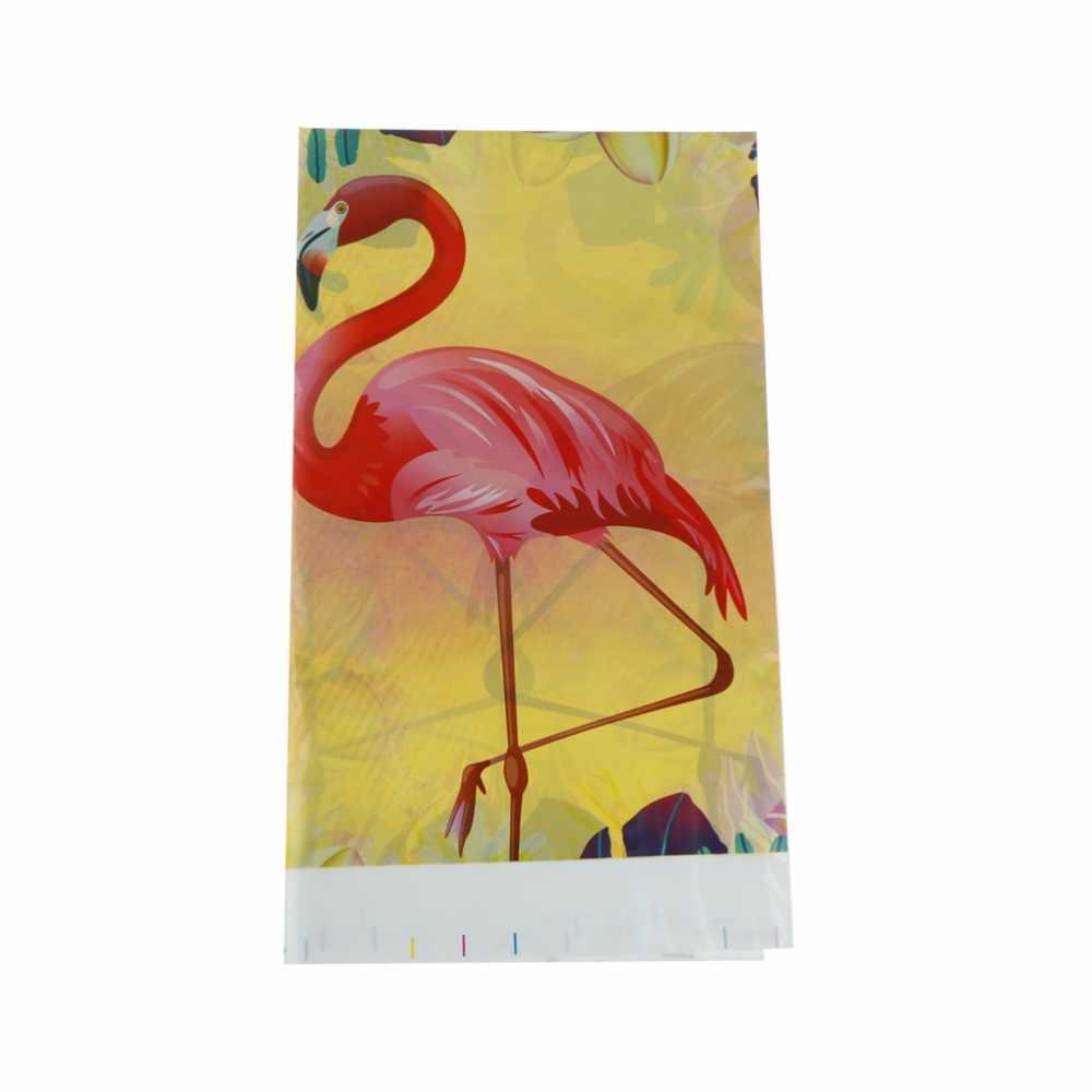 1Pcs Flamingo Party Tafelkleed Waterdicht flamingo tafelkleed katoen Decoratie Tafel Coveration