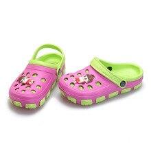 Baby Hole Garden Shoes 2016 New Baby Beach Sandals Breathable Casual Summer Slipper Zapatos EVA Clogs For BabyBoys Girls Cartoon