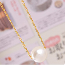 2019 new type Hot sale Brand Design Fashion Vintage Elegant Charm Simple Generous Pearl Pendent Chain necklace Jewelry Wholesale(China)