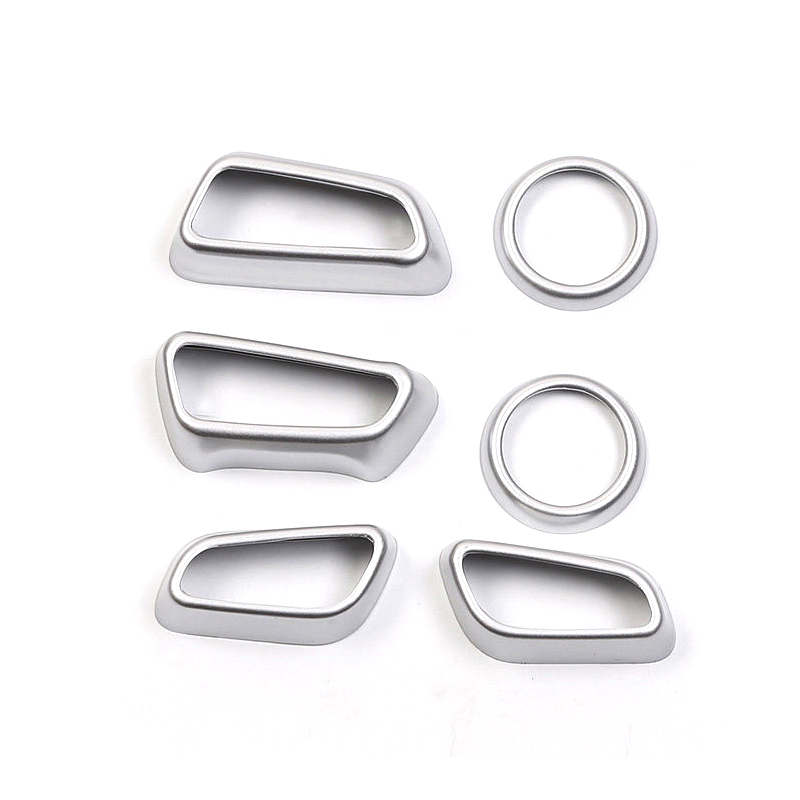 Image 3 - For Toyota RAV4  2019 2020 ABS auto Car Styling Interior Accessories Car Seat Adjustment Buttons Cover Trim 6PCS-in Interior Mouldings from Automobiles & Motorcycles
