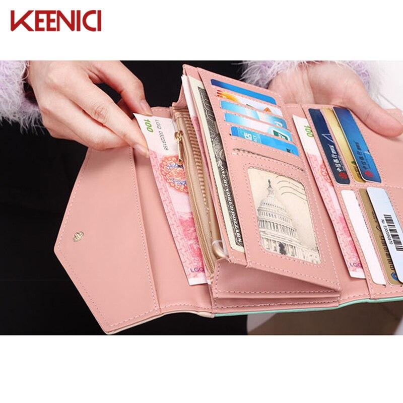 moeda bolsa carteras cüzdan Tipo de Estampa : Floral