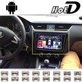 Para Skoda Octavia Laura 5E 2013 2014 2015 2016 Coche Multimedia Reproductor de DVD de Navegación GPS Sistema Android wth Pantalla Grande NAVI