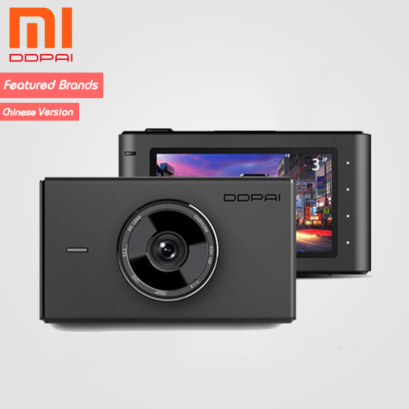 Ddpai Parking-Monitor Recording Camera-Ram Dash-Cam Xiaomi 24H MIX3 Mijia Built-In 32GB