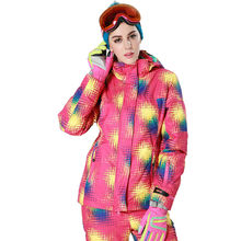 Phibee Women Waterproof Ski Jacket  Thick Snow Jacket Windproof  -30 Degree