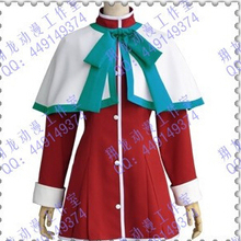 Kanon High School Uniforms Green Ribbon Cosplay Costumes Deluxe Edition