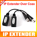 2016 New 1CH Passive IP Extender Over Coax,Transmiter IP camera Signal Over Existing Coaxial Cable,Max Up to 220M