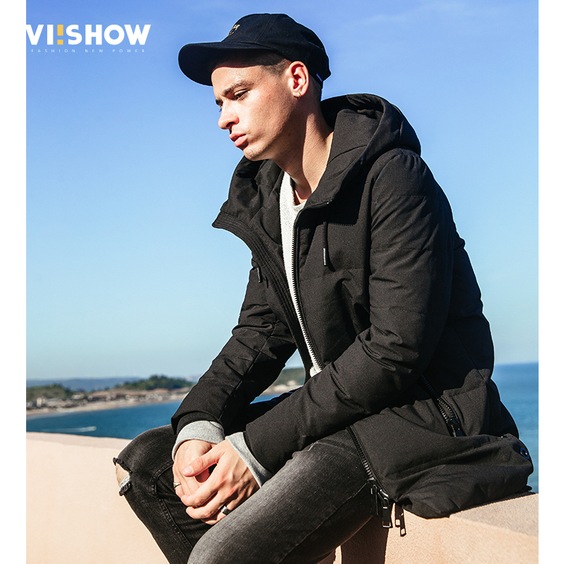 VIISHOW New Thick Winter Down Jacket Men High-End Quality Men Warm Duck Down Jacket Windproof Brand Male Down Coat YC2674174