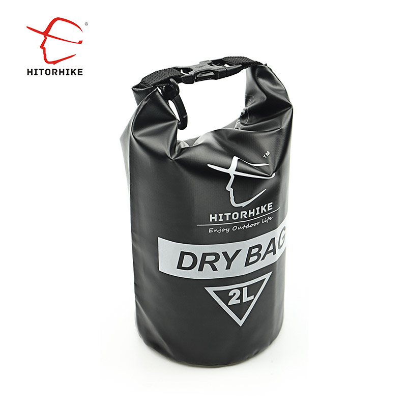 525517294c HITORHIKE 2L PVC Waterproof Dry Bag Durable Lightweight Outdoor Diving  floating Camping Hiking Backpack Swimming Bags
